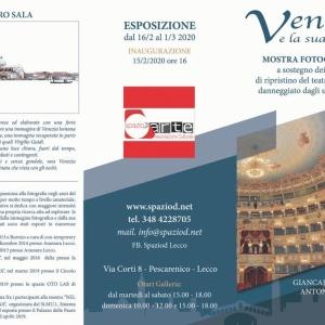 """Mostra """"Venezia sovraesposta"""" Galleria SPAZIO D Lecco"""