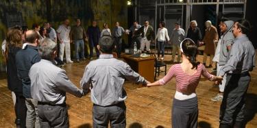"""Pad 40 - Compagnia teatrale """"Gli scatenati"""" - Casa Circondariale di Marassi - Genova"""