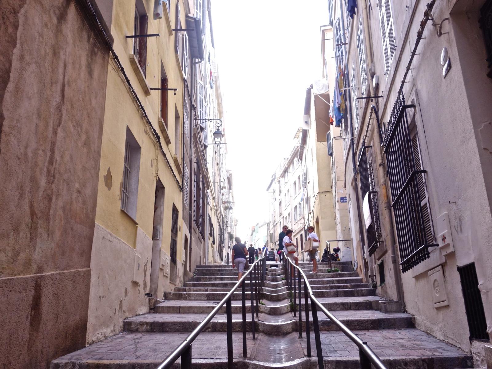 Marsiglia - Montée des Accoules