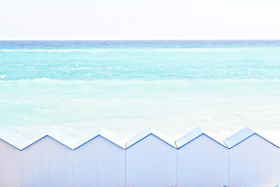Spiaggia blu