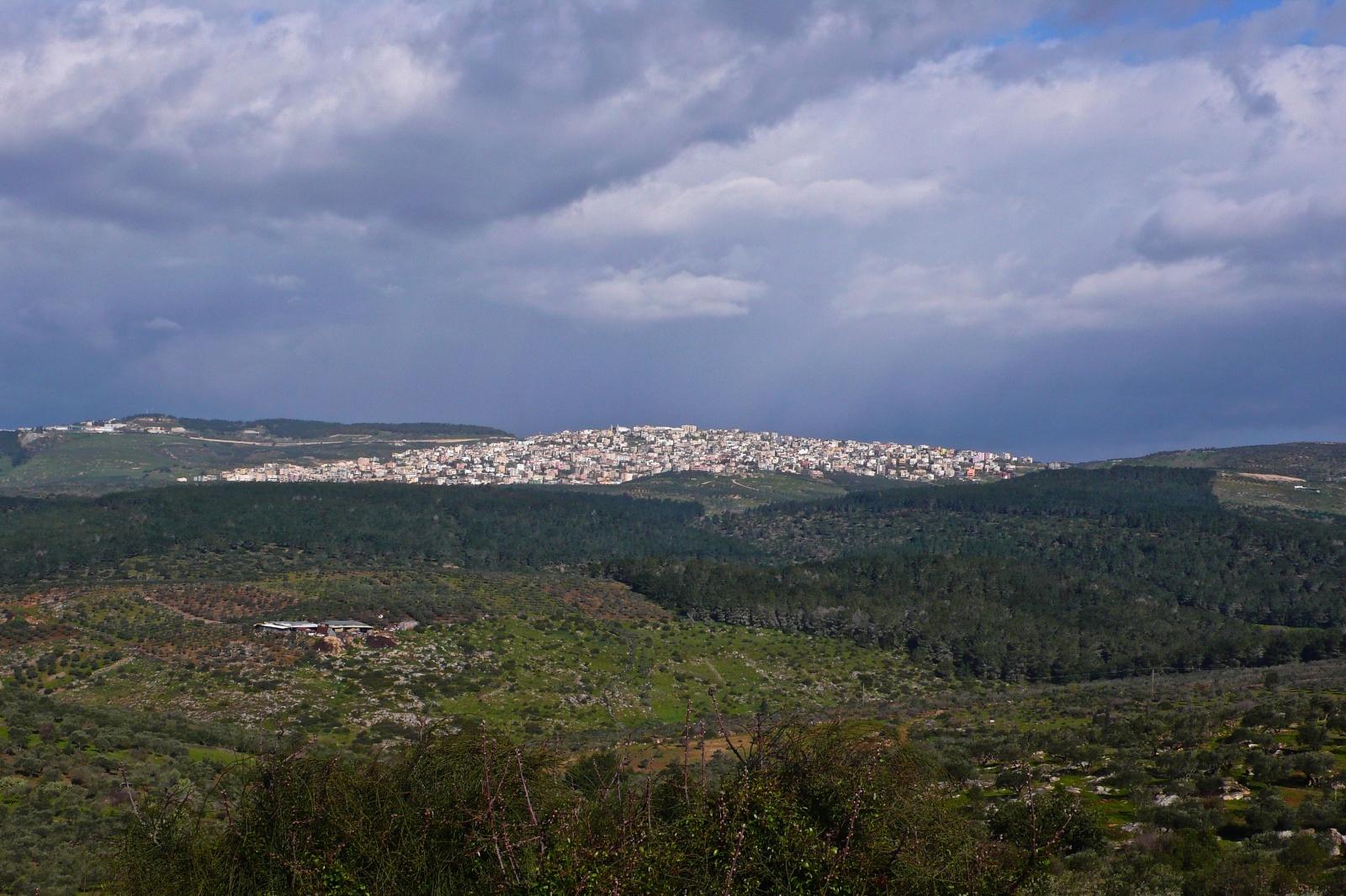Israele - Dal monte Tabor
